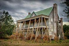 Tibwin Plantation, Tibwin Creek, Awendaw, St. James Santee Parish, Charleston County, SC. Vanessa Kauffmann