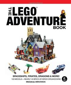 The LEGO Adventure Book, Vol. 2: Spaceships, Pirates, Dragons & More! by Megan H. Rothrock,http://www.amazon.com/dp/1593275129/ref=cm_sw_r_pi_dp_Agpgtb1B64WH1GEP