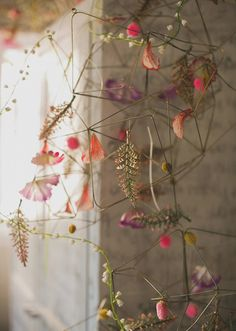 Beautiful floral and botanical display and design Art Floral, Floral Design, Flower Installation, Deco Nature, No Rain, Dried Flowers, Small Flowers, Floral Flowers, 1st Birthday Parties