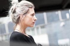"""""""I love the rebelliousness of my (silver) hair — it's honest and nonconformist."""" I second that!"""
