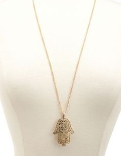 Hamsa of Love $24 via Tresors De Luxe  ~ LUXE Jewelry  . Click on the image to see more!