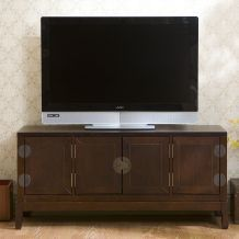 @Overstock - Add a touch of the Orient to your TV room with a Sullivan entertainment center  Living room furniture is ideal for displaying flat panel TVs  Entertainment center has a low design and decorative metal hardware accents  http://www.overstock.com/Home-Garden/Sullivan-Entertainment-Center/3647497/product.html?CID=214117 $264.99