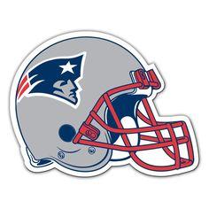 New England Patriots Football Helmet Magnet