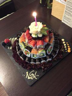 THE best freaking Sushi cake I've seen so far :)