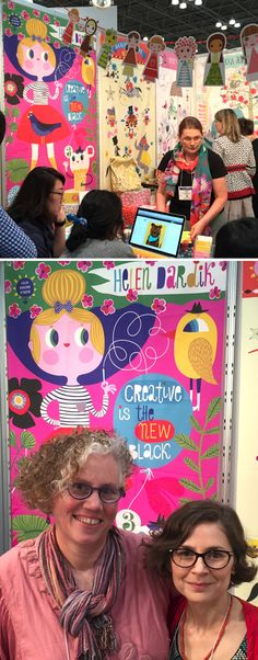 orange you lucky!: a few pictures from Surtex . . .
