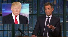 Seth Meyers Takes A Closer Look At 'Scam Artist' Trump And His Tax Return Bombshell