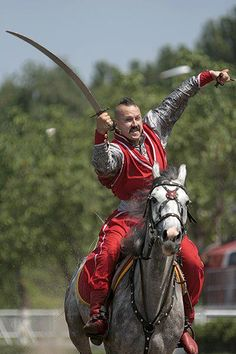 Aeirian cavalry based on Kozaks