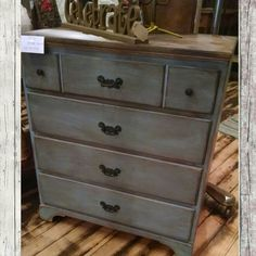 Just in and Sold. Upcycled chest of drawers. $89.99 #cherisheverymoment #upcycling #homedecor