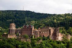 Heidelberg Castle, Germany.