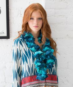 Ruffled Beauty Scarf