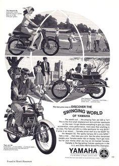 1966 Yamaha Ad