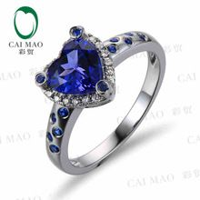 http://babyclothes.fashiongarments.biz/  CaiMao 18KT/750 White  Gold 1.35 ct Natural IF Blue Tanzanite AAA  0.19 ct Full Cut Diamond Engagement Gemstone Ring Jewelry, http://babyclothes.fashiongarments.biz/products/caimao-18kt750-white-gold-1-35-ct-natural-if-blue-tanzanite-aaa-0-19-ct-full-cut-diamond-engagement-gemstone-ring-jewelry/,            ,                      , Baby clothes, US $720.00, US $662.40  #babyclothes