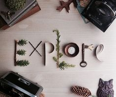 Explore photo print mixed media lettering by erinleightdesigns beautiful Adventure Awaits, Adventure Travel, Life Adventure, Nature Adventure, Adventure Quotes, Schrift Design, Photo Print, Voyage Europe, Foto Art