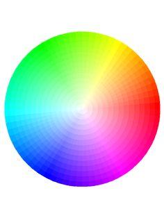 rueda de color:¿Qué es la rueda de color?  La rueda de color o círculo cromático es un círculo que contiene todos los colores que podemos ver, 12, dentro de un círculo.  Están los 3 colores primarios: rojo, azul y amarillo; los 3 colores secundarios: verde, violeta y naranja (combinaciones de los 3 anteriores) y 6 colores terciarios: todos los 6 anteriores combinados.  ¿Cómo utilizarla?  Hay varias formas de usar la rueda de color, con ella puedes verte juvenil o elegante y clásica.