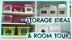 It's no secret that we love chalk markers here at Crafty Croc and our chalkboard labels are a fantastic addition to this addiction. Card Storage, Storage Ideas, Chalkboard Labels, Chalk Markers, Organize Your Life, Room Tour, Life Organization, Book Crafts, Crafty