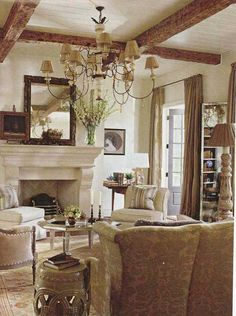 TidbitsTwine Living Room Beams Adding Texture to Your Home {8 Easy Ways}