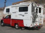 Douglass Truck Bodies specializes in custom steel truck camper bodies, each built-to-order to fit your specific combination of camper and truck. Truck Camper, Truck Bed, Camper Trailers, Campers, Excavator For Sale, Trailer Build, Camping Glamping, 5th Wheels, Cool Gadgets