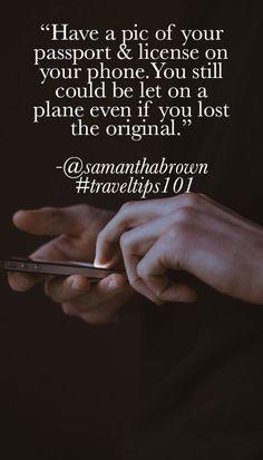 In case of #travel emergency! #Traveltips101