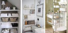 Ideas para almacenar en espacios diminutos - http://www.decoluxe.net/2015/01/05/ideas-para-almacenar-en-espacios-diminutos/