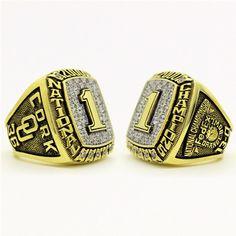 Custom 2000 Oklahoma Sooners National Championship Ring Click Link in My Profile to Order #oklahomasooners #sooners #boomersooner