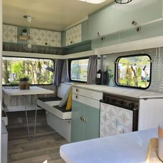 caravan renovation diy 384635624425113294 - Camping For Free Near Me Source by Caravan Interior Makeover, Caravan Renovation Diy, Diy Caravan, Camper Interior Design, Caravan Vintage, Caravan Hire, Camper Caravan, Vintage Caravans, Camper Makeover