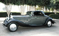 1935 Rolls-Royce Phantom II special ordered two passenger sport coupe by Hooper and Company. Chassis Number: 70TA
