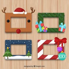 Free Graphic resources for everyone Christmas Photo Booth, Christmas Frames, Christmas Wood, Christmas Photos, Kids Christmas, Christmas Gifts, Christmas Ornaments, Christmas Greetings, Christmas Party Decorations