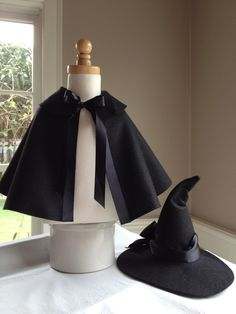 witch hat out of felt- to make