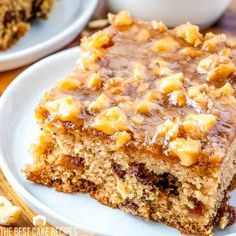 An easy date and walnut cake with a broiled topping. This old fashioned cake recipe is delicious with a dollop of whipped cream. Best Cake Recipes, Snack Recipes, Dessert Recipes, Sweet Desserts, Tea Cakes, Food Cakes, Date And Walnut Cake, Date And Walnut Pudding, Old Fashioned Cake Recipe