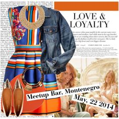 Coffee and friends on Polyvore