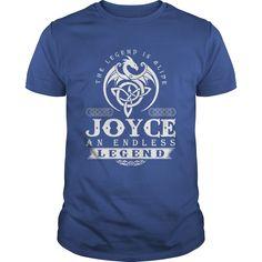The Legend Is ⊰ Alive JOYCE An Endless LegendThe Legend Is Alive JOYCE An Endless Legendt-shirt