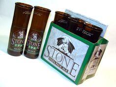 Stone IPA Beer Glasses
