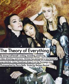 Grimes//Claire Boucher, Hana, & Alyson