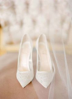 Beautiful sheer white wedding shoes Pinned from: www. , Beautiful sheer white wedding shoes Pinned from: www. Peep Toes, High Heels, Shoes Heels, Lace Shoes, Converse Shoes, Lace Pumps, Louboutin Shoes, Christian Louboutin, Traditional Gowns