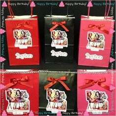 1o ever after high Party Favor Bags Ever by InAweCreationbyDiana