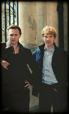 Tom and Ben << Where do I pin this??? Hiddlestoned or Cumberbabed?- dilemma