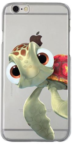 Disney Finding Nemo Squirt Sky Blue design on iPhone 6 / 6s Clear Shield Case by Coveroo | Coveroo