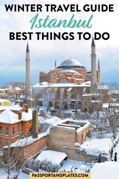 Traveling to Istanbul? This guide includes everything you need to know about what to do, where to eat, how to get around, and all of the best things to do in Istanbul during winter. Click to read! | best things to do in Istanbul| Istanbul travel guide | what to do in Istanbul | ultimate guide to Istanbul Turkey | Istanbul in Winter | Istanbul in the Winter | Winter in Istanbul | Best things to do in Istanbul during winter | Istanbul Travel Guide in the Winter|