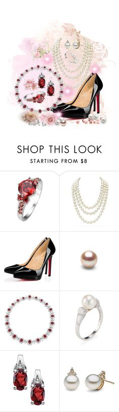 """My wish"" by marianne-spiessens on Polyvore featuring beauty, Chanel, Christian Louboutin, Bulgari and Belpearl"