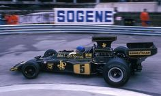 Ronnie Petersen in the John Player Special Lotus at Monaco Grand Prix F1, Monaco Grand Prix, F1 Lotus, Classic Race Cars, Gilles Villeneuve, Race Engines, Formula 1 Car, F1 Drivers, F1 Racing