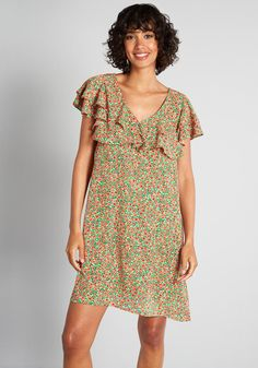 Fruit dress Search Results | ModCloth Cotton Dresses, Cute Dresses, Beautiful Dresses, Vintage Dresses, Poppy Dress, Green Dress, Molly Bracken, New Arrival Dress, Occasion Dresses