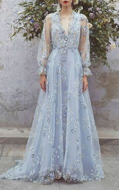 Get inspired and discover Luisa Beccaria trunkshow! Shop the latest Luisa Beccaria collection at Moda Operandi. Luisa Beccaria, Prom Dresses Long With Sleeves, Dress Long, Long Gowns, Backless Dresses, Dress Sleeves, Dress Formal, Women's Dresses, Dresses Online