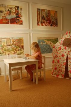 Playroom - Over-sized Art