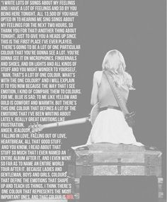 INTRO to the RED TOUR. i loved this. You just wait and wait because you want her to say RED so bad! :) Please Follow Us @ http://22taylorswift.com #22taylorswift #taylorswift #22taylorswiftcom