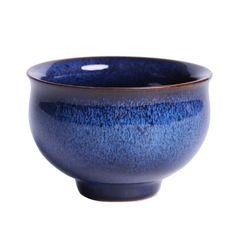 "Jianzhan Rabbit Hair Blue ""Tea Cup"" 200 cc / 125 cc / 70cc, KTM012 Chinese Tea Set, Bamboo Box, Pu Erh Tea, Tea Tray, Lovely Shop, Tea Ceremony, Blue Hair, Tea Cups, Rabbit"