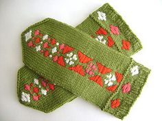 Not familiar with the Estonian Roositud inlay technique? Visit SpillyJane Knits and download the free tutorial!