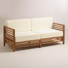 One of my favorite discoveries at WorldMarket.com: Wood Praiano Outdoor Occasional Bench