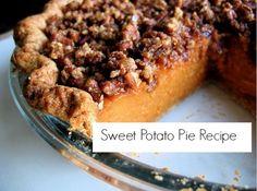 The Perfect Thanksgiving Dessert: Sweet Potato Pie