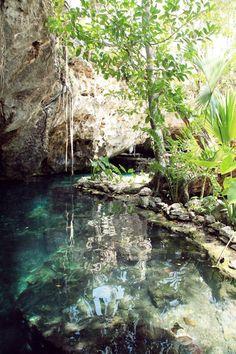 Gran Cenote, near Tulum Mexico