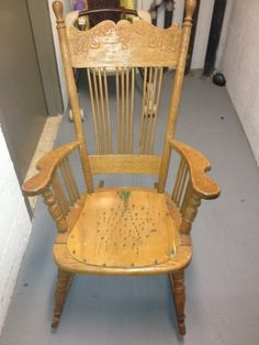 Antique rocking chair-- love this for a nursery
